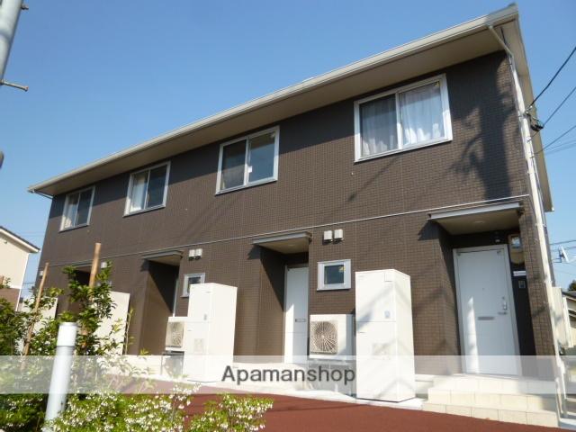 富山県富山市、朝菜町駅徒歩8分の築3年 2階建の賃貸アパート