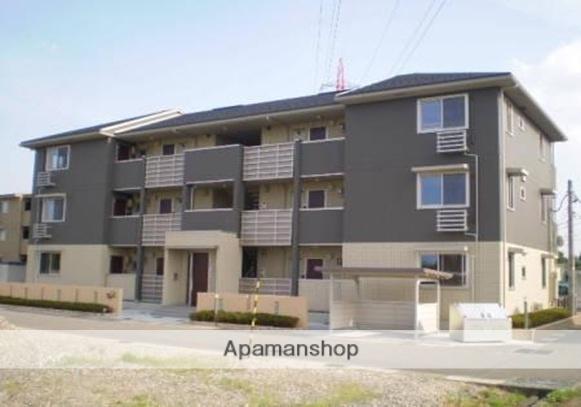 富山県富山市、朝菜町駅徒歩28分の築7年 3階建の賃貸アパート