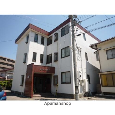 富山県富山市、南富山駅徒歩4分の築26年 3階建の賃貸アパート