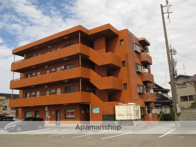 富山県富山市、越中中島駅徒歩6分の築27年 4階建の賃貸マンション