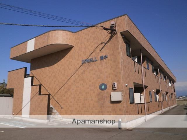富山県富山市の築10年 2階建の賃貸アパート