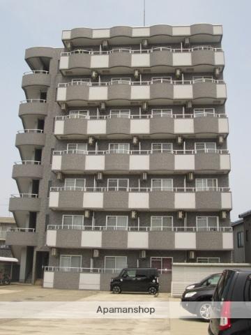 富山県富山市、稲荷町駅徒歩15分の築14年 7階建の賃貸マンション