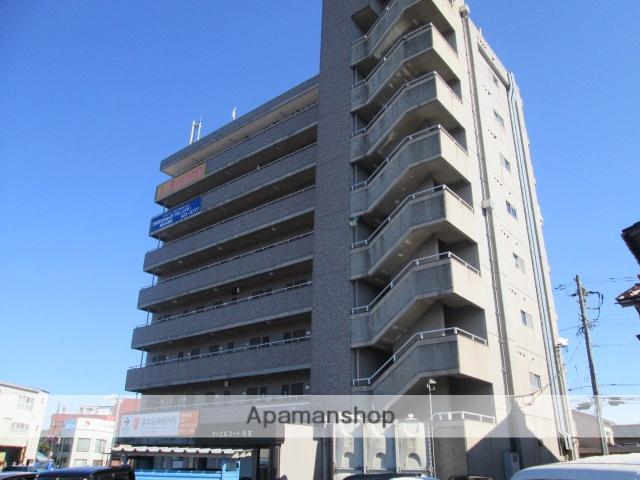 富山県富山市、稲荷町駅徒歩6分の築27年 8階建の賃貸マンション