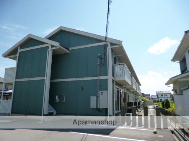 富山県富山市、朝菜町駅徒歩5分の築11年 2階建の賃貸アパート