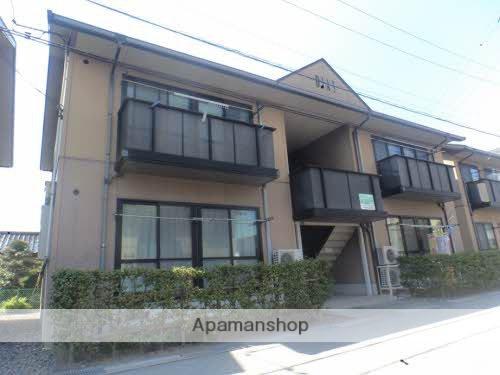 富山県富山市、蓮町駅徒歩6分の築19年 2階建の賃貸アパート