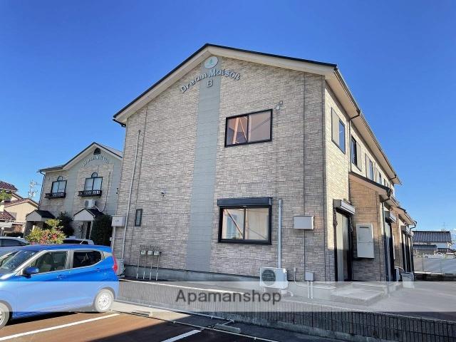富山県富山市、南富山駅徒歩14分の築16年 2階建の賃貸テラスハウス