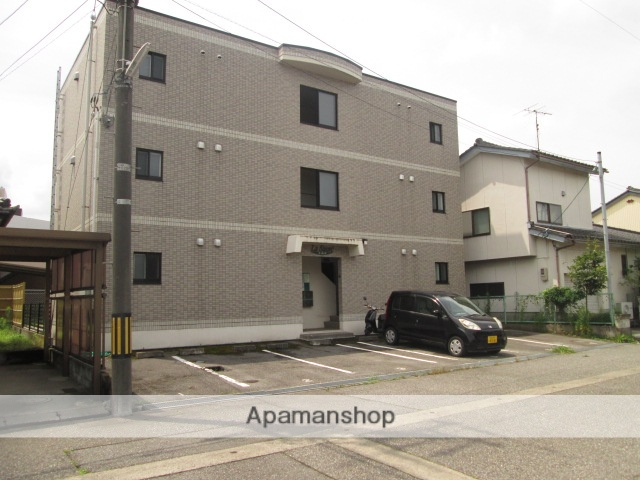 富山県富山市、稲荷町駅徒歩28分の築14年 3階建の賃貸マンション
