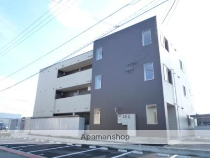 富山県富山市の築6年 3階建の賃貸アパート