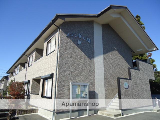 富山県富山市、朝菜町駅徒歩18分の築14年 2階建の賃貸アパート