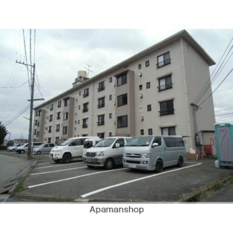 富山県富山市、西富山駅徒歩17分の築47年 4階建の賃貸マンション