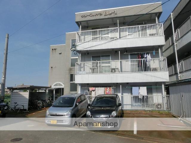 富山県富山市、西富山駅徒歩6分の築29年 3階建の賃貸アパート
