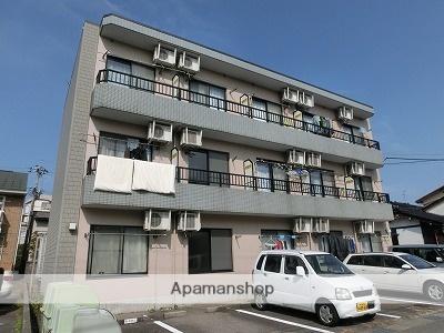 富山県富山市、西富山駅徒歩6分の築18年 3階建の賃貸マンション