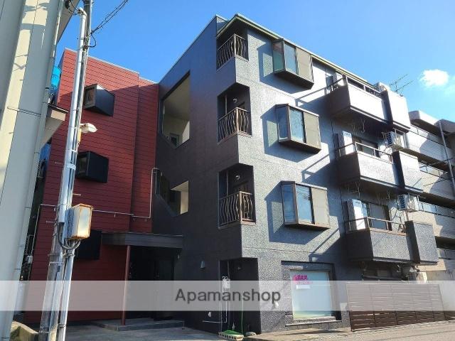 富山県富山市、西中野駅徒歩5分の築30年 4階建の賃貸マンション
