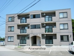富山県富山市の築18年 3階建の賃貸マンション