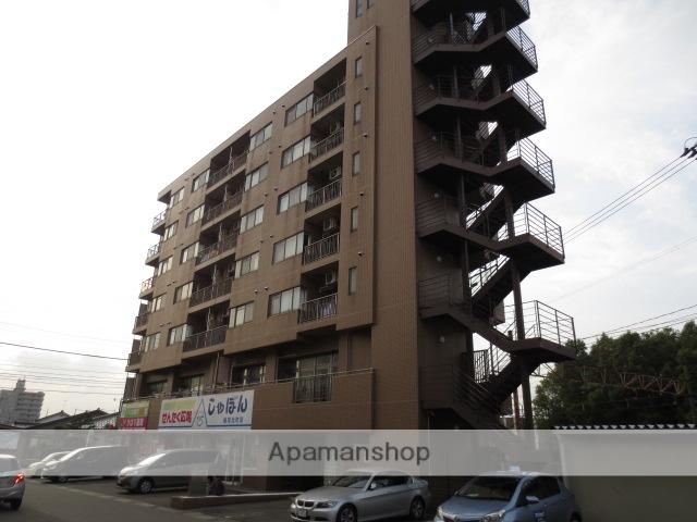 富山県富山市、稲荷町駅徒歩1分の築21年 7階建の賃貸マンション