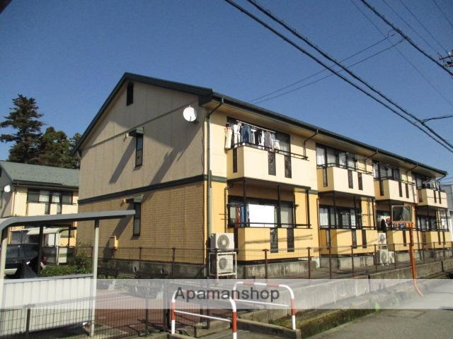 富山県富山市、南富山駅徒歩16分の築18年 2階建の賃貸アパート