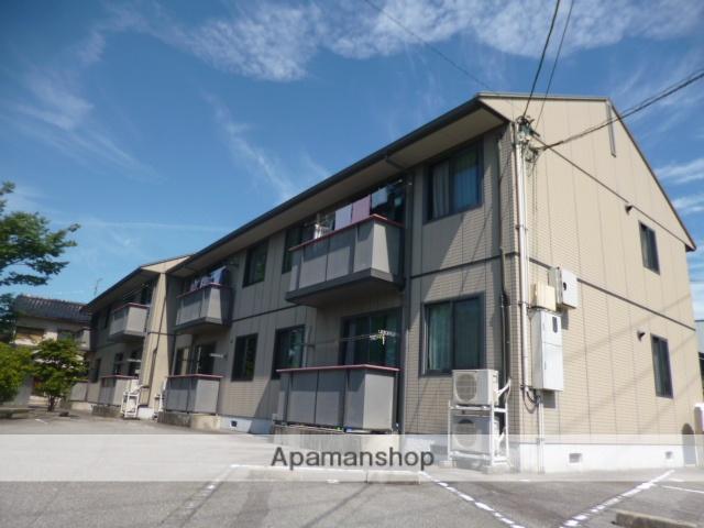 富山県富山市、インテック本社前駅徒歩12分の築15年 2階建の賃貸アパート