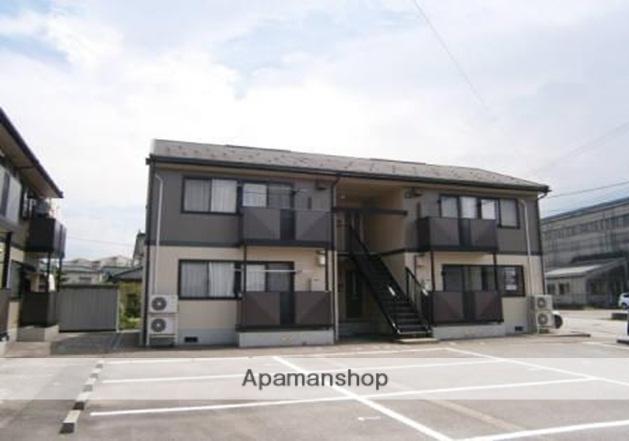 富山県富山市、新庄田中駅徒歩15分の築21年 2階建の賃貸アパート
