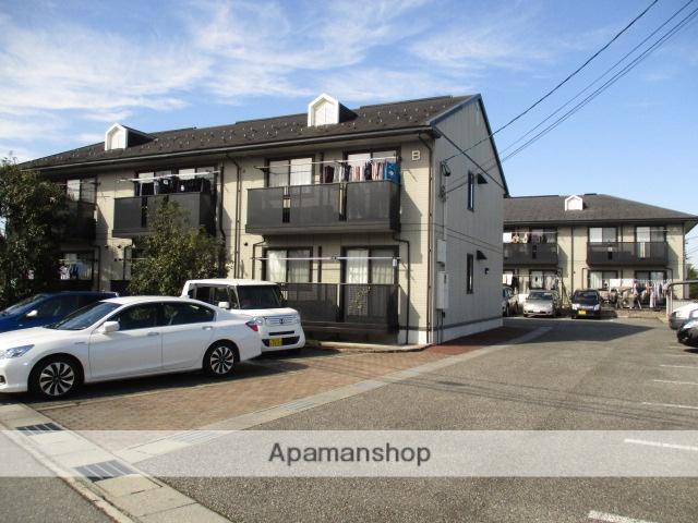 富山県富山市、朝菜町駅徒歩7分の築15年 2階建の賃貸アパート