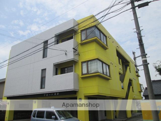 富山県富山市、速星駅徒歩7分の築28年 3階建の賃貸マンション