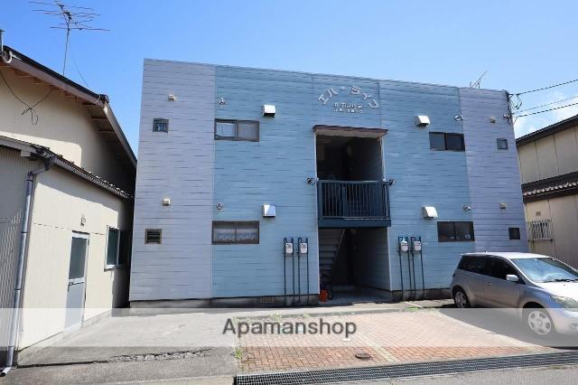 富山県富山市、越中荏原駅徒歩3分の築19年 2階建の賃貸アパート