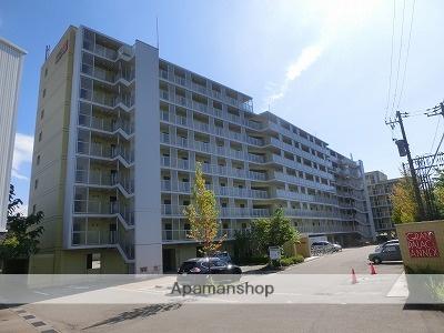 富山県富山市、西富山駅徒歩14分の築13年 9階建の賃貸マンション