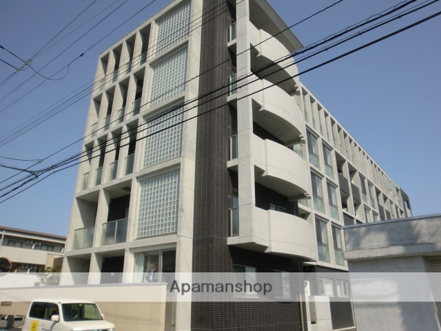 富山県富山市、広貫堂前駅徒歩15分の築5年 5階建の賃貸マンション
