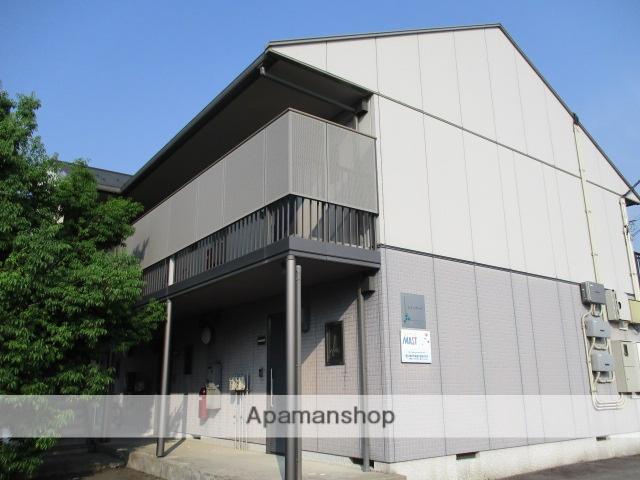 富山県富山市、朝菜町駅徒歩5分の築13年 2階建の賃貸アパート