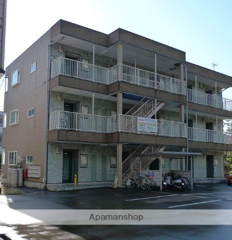 富山県富山市、西富山駅徒歩17分の築16年 3階建の賃貸アパート