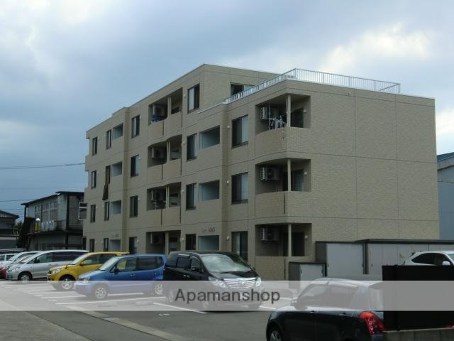 富山県富山市、稲荷町駅徒歩9分の築7年 4階建の賃貸マンション