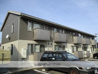 富山県富山市、東新庄駅徒歩2分の築1年 2階建の賃貸アパート