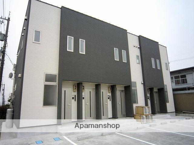 富山県富山市、東富山駅徒歩18分の築2年 2階建の賃貸アパート