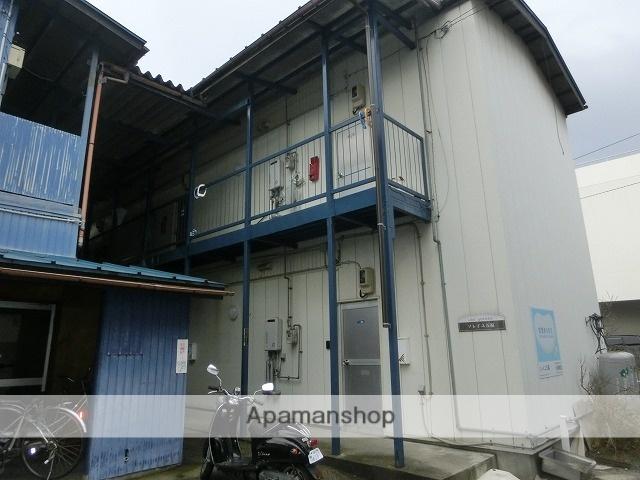富山県富山市、富山トヨペット本社前駅徒歩5分の築40年 2階建の賃貸アパート