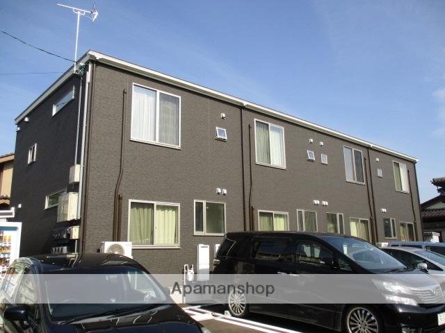 富山県富山市、東新庄駅徒歩16分の築1年 2階建の賃貸アパート