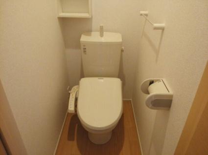 ヴィラノールH[1K/36.25m2]のトイレ