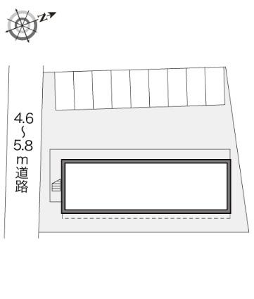 レオパレス富岡[1K/23.18m2]の内装1