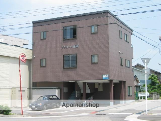 富山県富山市の築16年 3階建の賃貸アパート