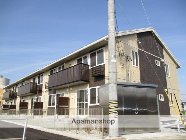 富山県富山市、東新庄駅徒歩15分の築2年 2階建の賃貸アパート