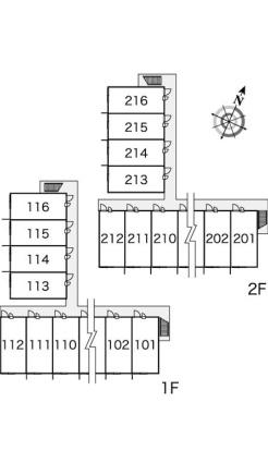 レオパレス豊夢[1K/23.18m2]の内装2