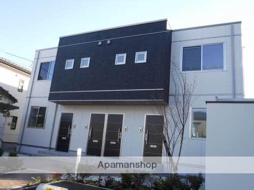 富山県富山市、インテック本社前駅徒歩7分の築1年 2階建の賃貸アパート