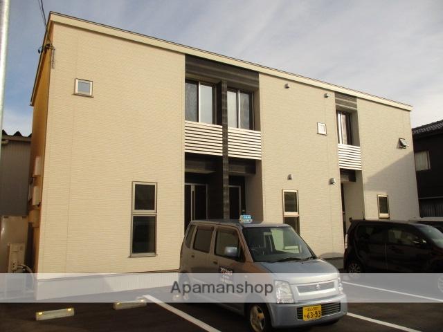 富山県富山市の築1年 2階建の賃貸アパート