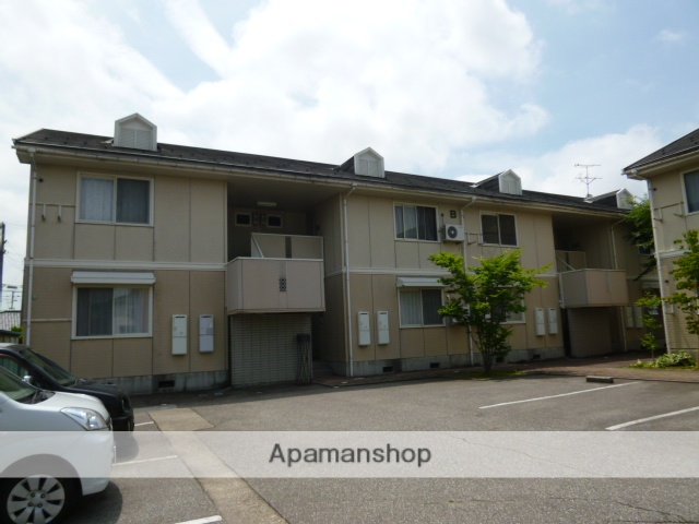富山県富山市、東新庄駅徒歩6分の築24年 2階建の賃貸アパート