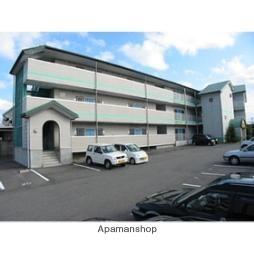 富山県富山市、呉羽駅徒歩32分の築20年 3階建の賃貸アパート
