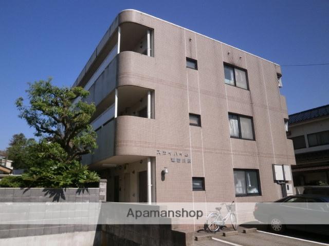 富山県富山市、諏訪川原駅徒歩2分の築25年 3階建の賃貸マンション