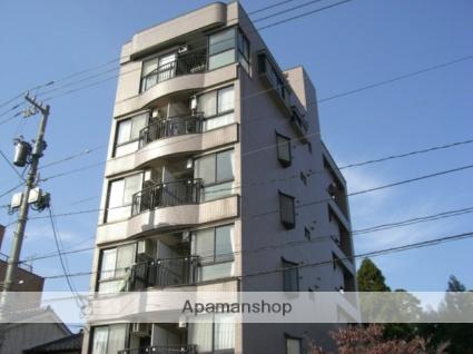 富山県富山市、上本町駅徒歩3分の築27年 6階建の賃貸マンション