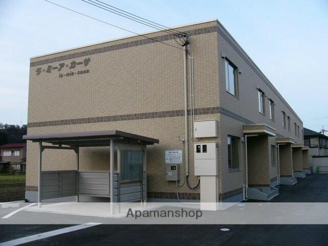 富山県富山市、大学前駅徒歩10分の築10年 2階建の賃貸テラスハウス