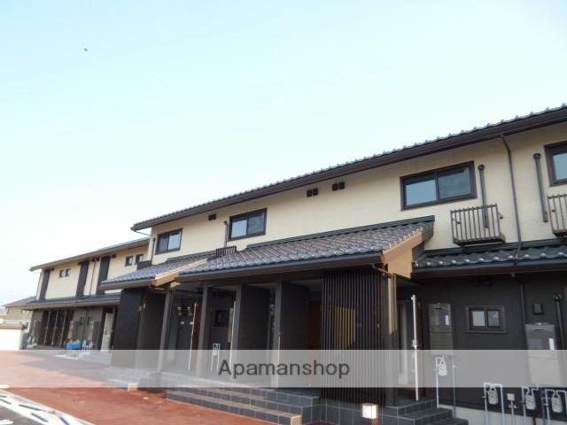 富山県富山市、上堀駅徒歩52分の築1年 2階建の賃貸アパート
