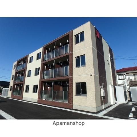 富山県富山市、南富山駅徒歩20分の新築 3階建の賃貸マンション