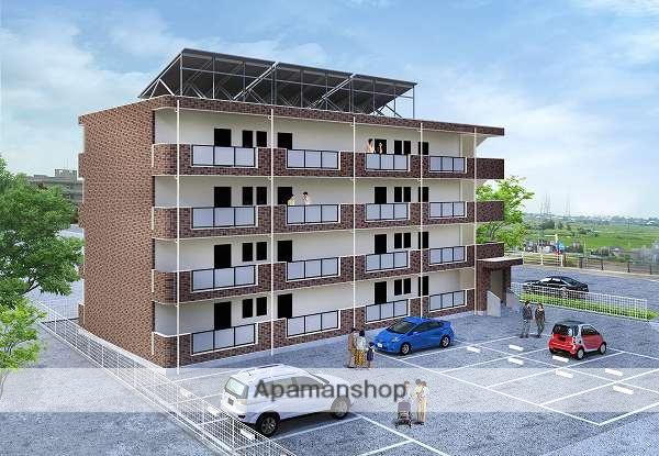 富山県富山市、東八尾駅徒歩65分の新築 4階建の賃貸マンション
