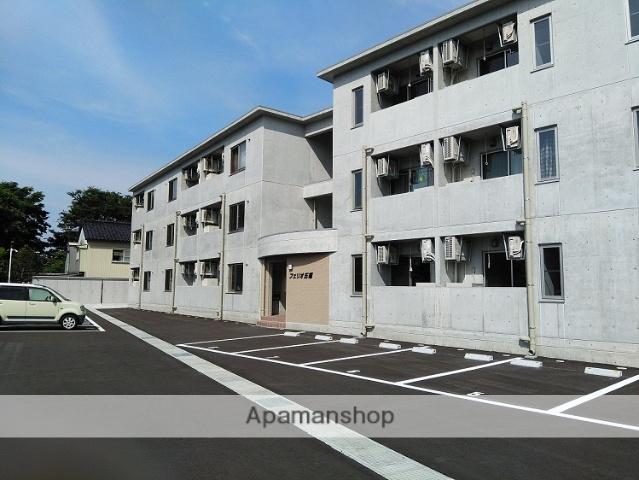 富山県富山市、大学前駅徒歩12分の新築 3階建の賃貸マンション